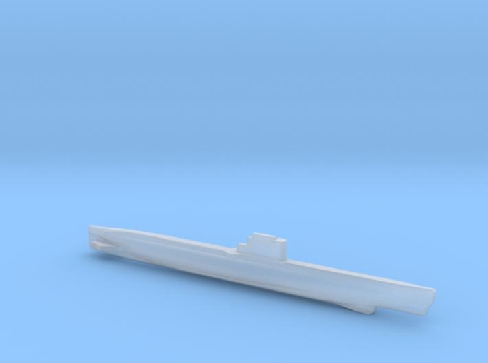 Whiskey-class submarine, Full Hull, 1/2400 3d printed
