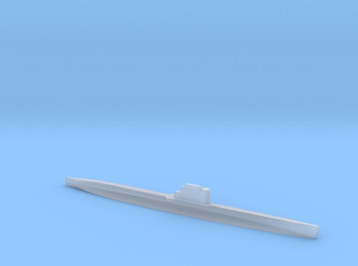 Whiskey-class submarine, 1/1800 3d printed