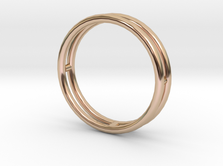 雙層手環 3d printed