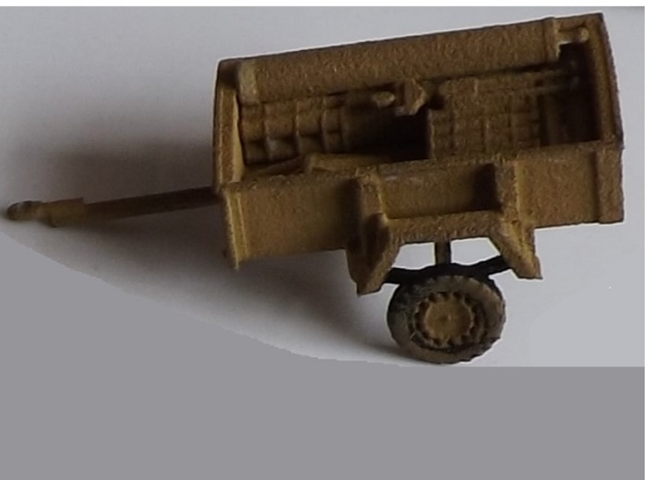 "1/72nd Scale 4.2"" Mortar Trailer 3d printed"