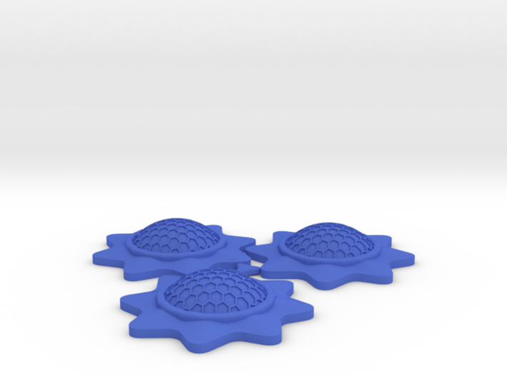 Stackable Shield Token 3 Pack for X-Wing Miniature 3d printed