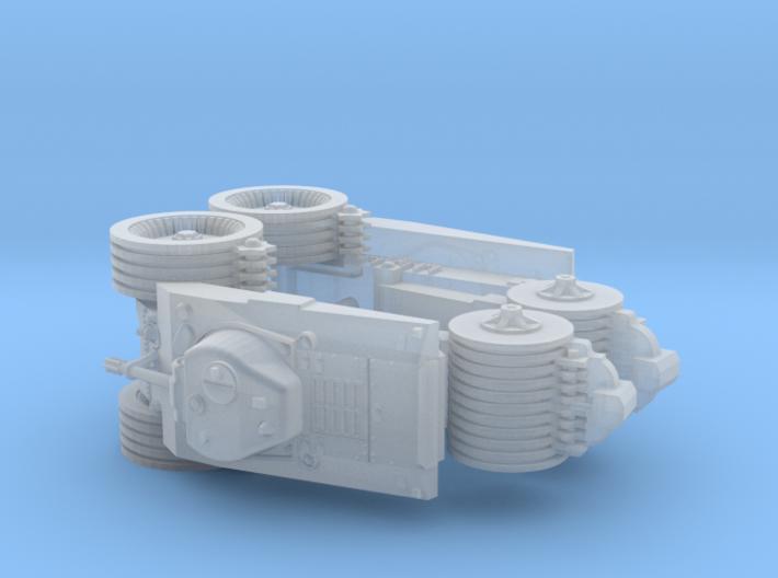 M4A2 T10 Mine Exploder 1/285 6mm 3d printed