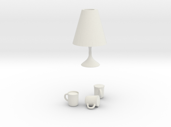 table lamp easy 3d printed