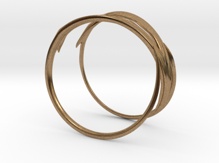 Stag Bangle 3d printed