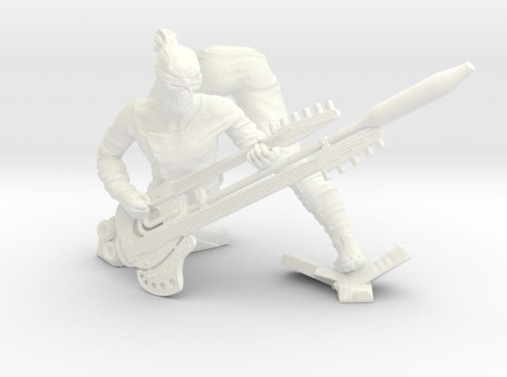 Coma Doof Warrior 127mm 3d printed