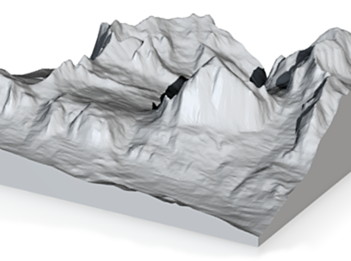 Model of Tofana di Rozes 3d printed