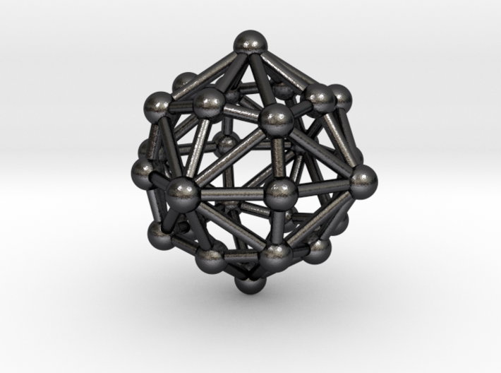 0399 Disdyakis Dodecahedron V&E (a=1cm) #003 3d printed