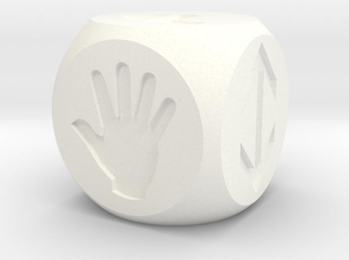 Dice for your invented games 3d printed