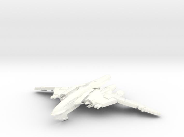 WingSerpent Class War Bird 3d printed