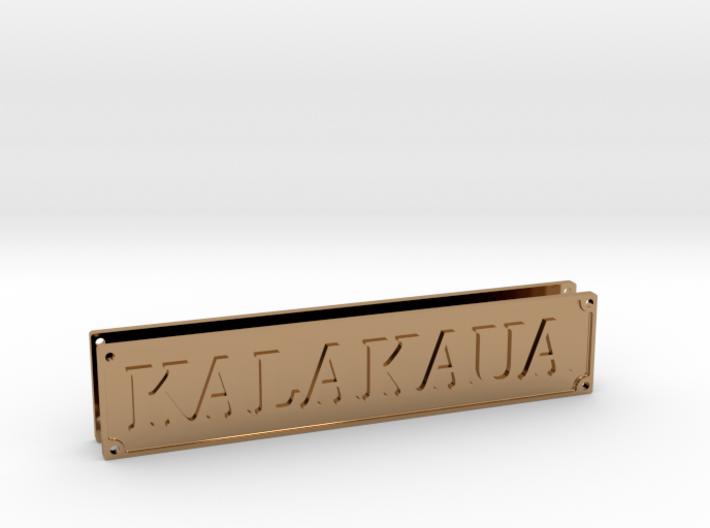KALAKAUA Plate 3d printed
