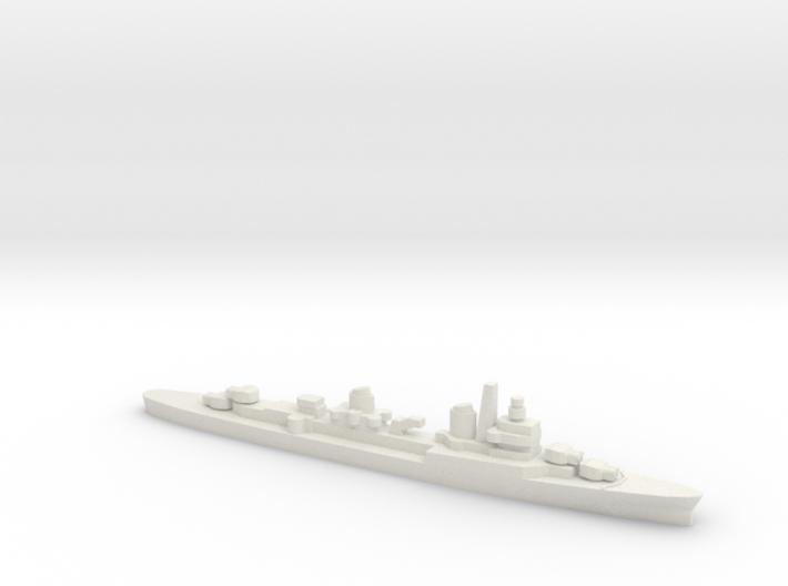Captaini Romani Class Cruiser w/ Barrels, 1/3000 3d printed