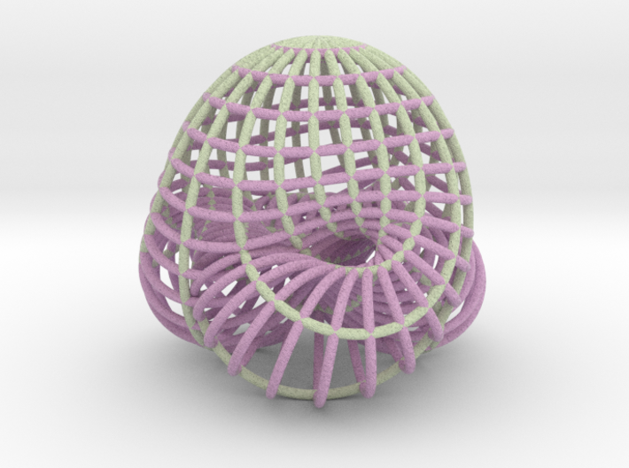 Boy Surface (just curves, two colors) 3d printed