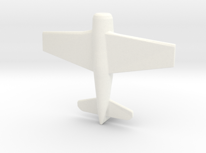 1/285 (6mm) F-8F Bearcat Fighter 3d printed