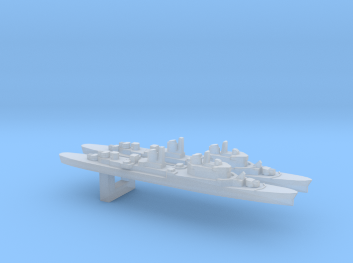 ITS San Marco x2 w/ Barrels, 1/6000 3d printed