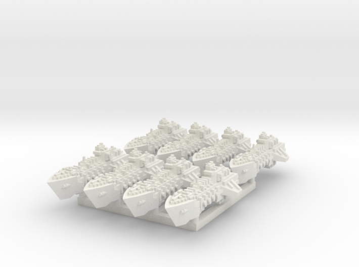 BFG Viper Class Destroyers (x8) 3d printed