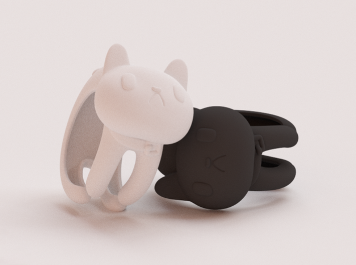 CatRing size 5 3d printed CGI not real product**