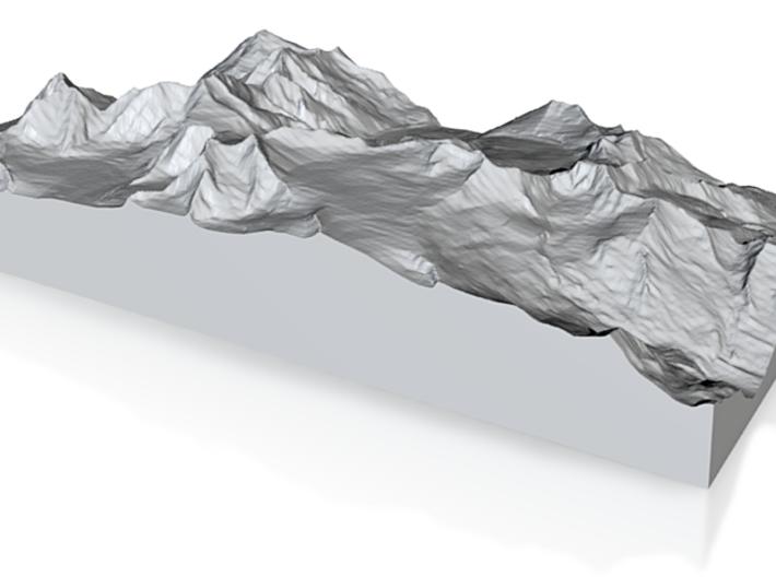 Model of Vadret da Pers 3d printed