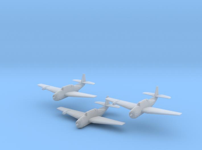 Grumman TBF/TBM w/radome 'Avenger' 1/200 x3 3d printed