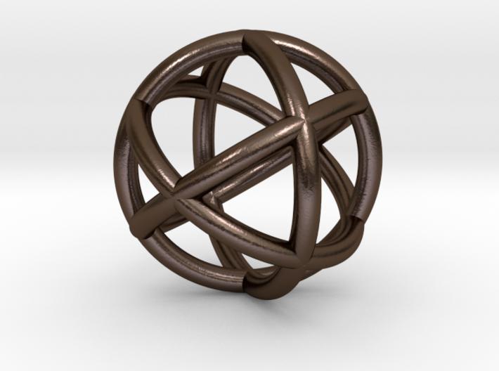 0402 Spherical Cuboctahedron (d=2.2cm) #002 3d printed