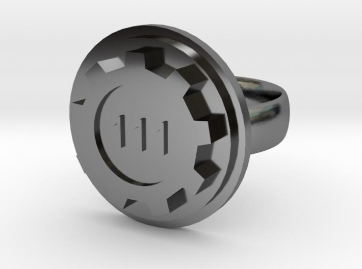 Vault-Tec Ring 3d printed