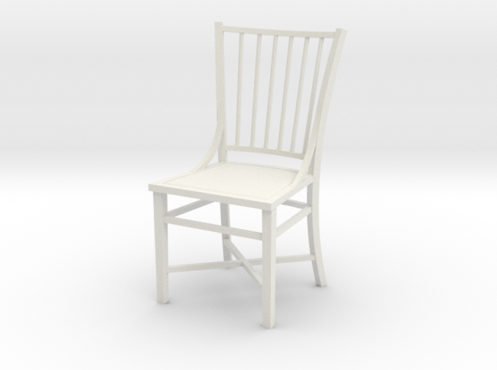 1:24 French Country Chair 3d printed