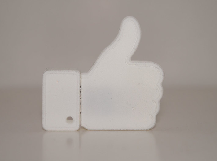 THUMBS UP USB HOLDER 3d printed