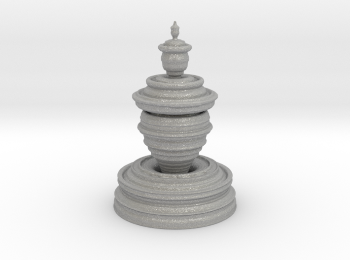 Fractality Chess - Pawn 3d printed