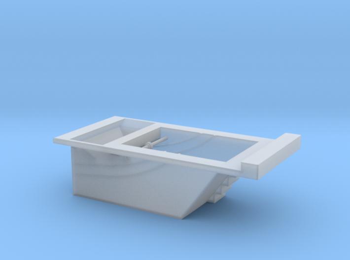 F-M Single Track Pit HO 3d printed