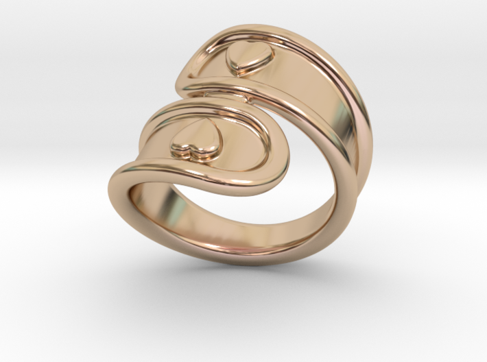 San Valentino Ring 30 - Italian Size 30 3d printed