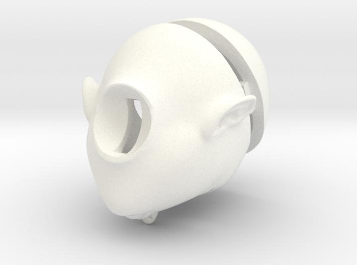 bjd doll head 1 3d printed