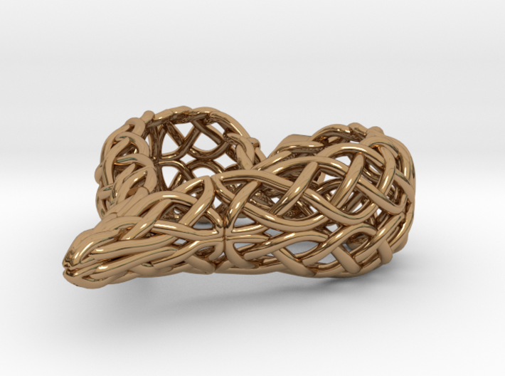 The Celtic Heart 3d printed