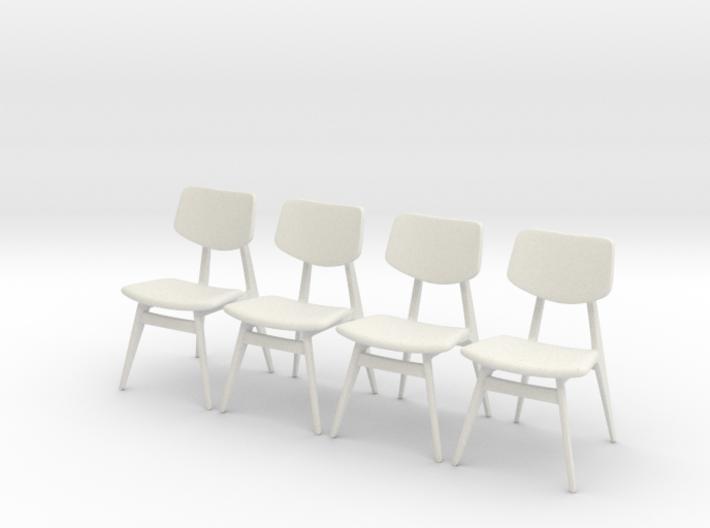1:24 C 275 Chair Set of 4 3d printed