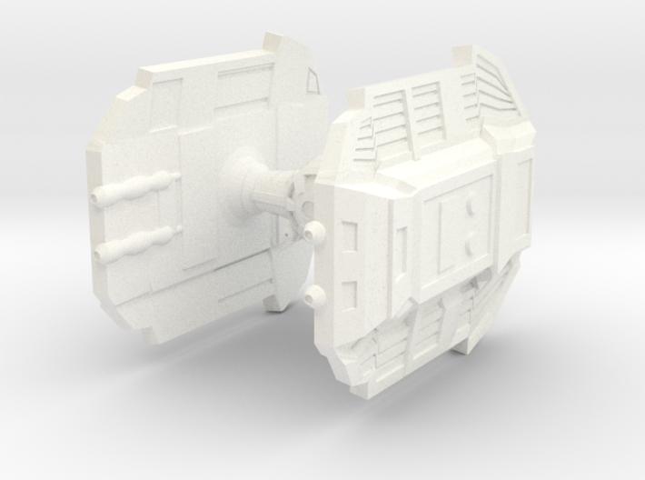 Warbot DIE Fighter 3d printed