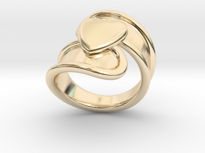 Valentinodayring 18 - Italian Size 18 3d printed