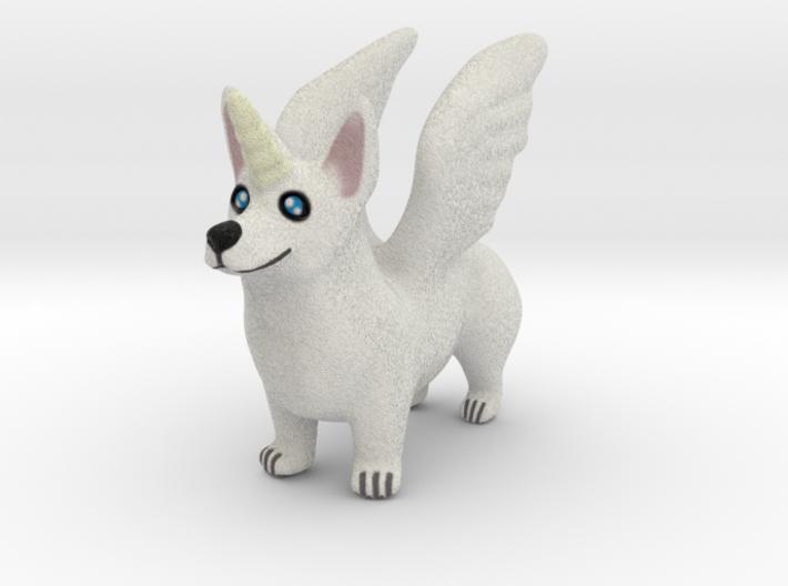 Corgi Unicorn  3d printed