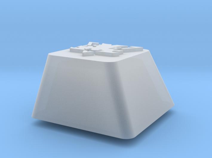 Topre row E - Terran symbol 3d printed
