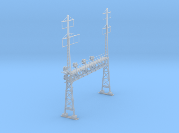 CATENARY PRR LATTICE SIG 4 TRACK 2-3PHASE N SCALE 3d printed