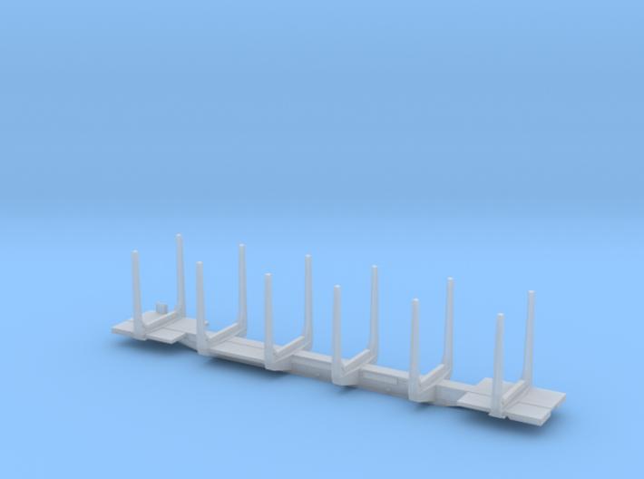 Portec 100 ton Logcar HO Scale 3d printed