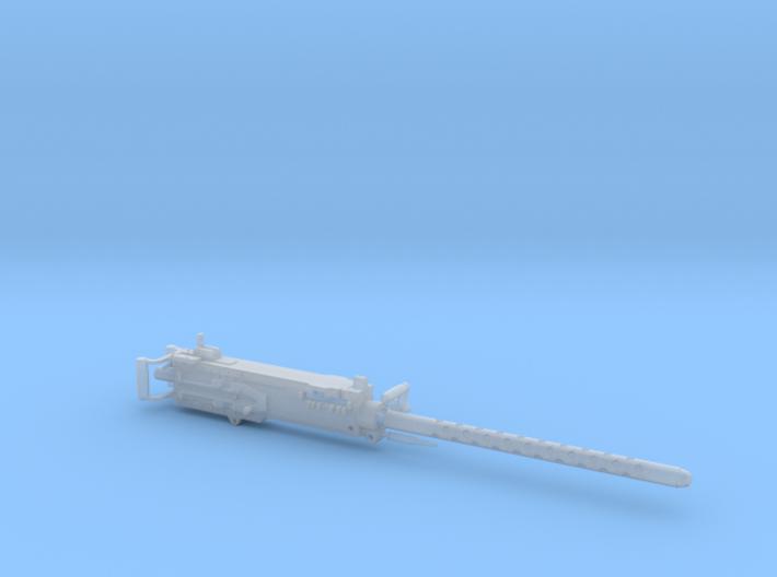 Scale Machine Gun 50 Cal 1: 9.85 3d printed