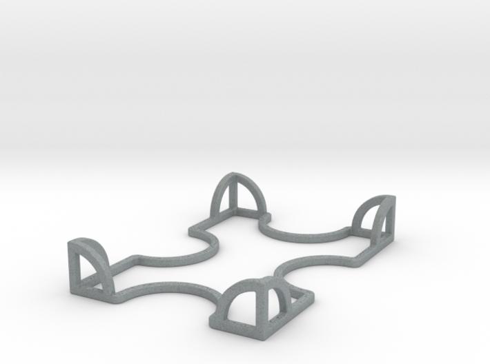 Catan One Deck Card Holder 3d printed
