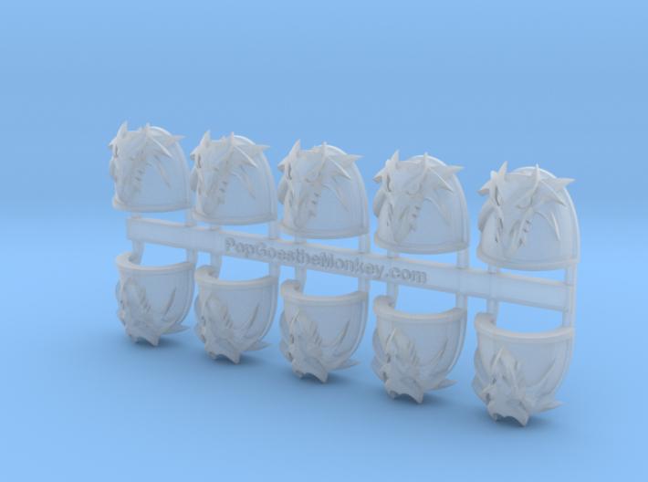 Dragon Head 3D - Gen4:Maximus Shoulder x10 3d printed