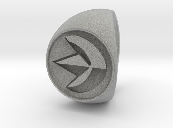Custom Signet Ring 19 3d printed