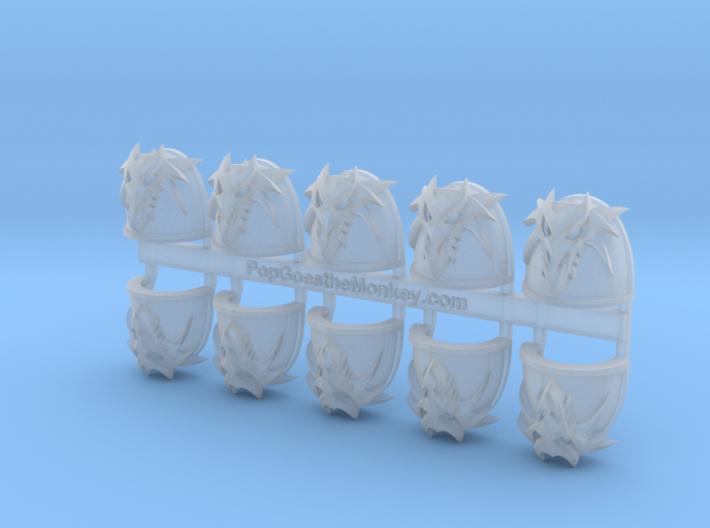 Dragon Skull 3D- Gen4:Maximus Shoulder x10 3d printed