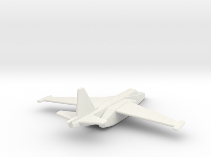 Su-25 Frogfoot 1/285 scale  3d printed