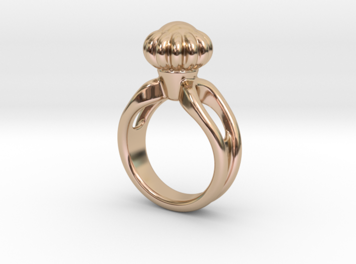 Ring Beautiful 14 - Italian Size 14 3d printed