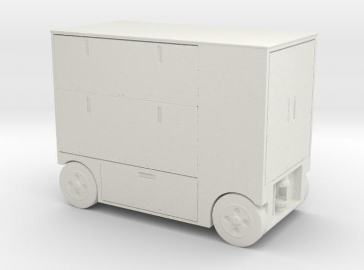 BSG style hangar bay tool cart - 1:32 scale 3d printed