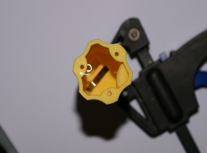 Carisma Screwdriver Key 3d printed Insert the nuts into the slots in the same orientation as this picture shows.