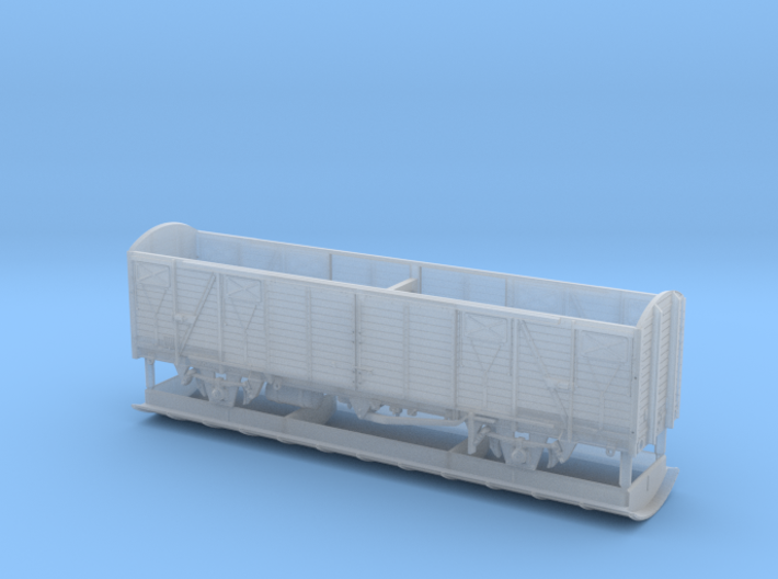 2261 TT Gedeckter Fährbootwagen Gbmhs 51 3d printed