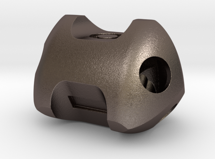Metal fudge die 3d printed