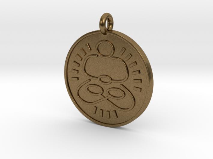 Meditation Pendant 1 3d printed